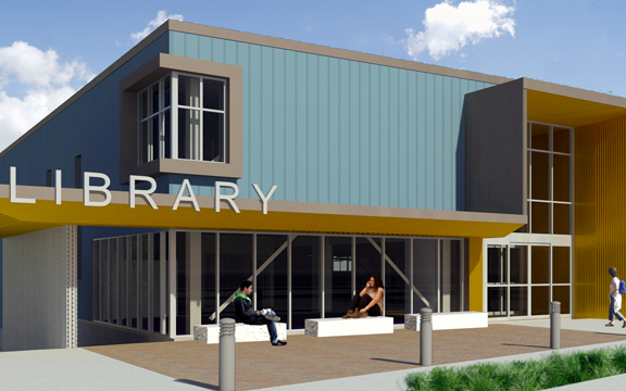 Lochlyn Hill – The New Northside Library